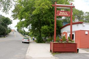 Dube's Seafood, a well-known fixture on Jefferson Avenue close to Ste. Anne's church, has been owned by two Franco-American families – the Dubés and the Pelletiers.