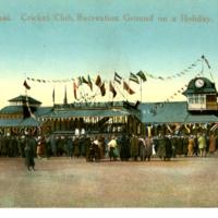 Shanghai. Cricket Club, Recreation Ground on a Holiday