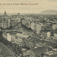 """""""South View rom Clock Tower, Bombay [Copyright]"""""""