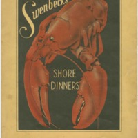 Swenbecks Shore Dinners Menu