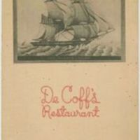 DeCoff's restaurant menu